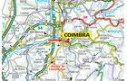 Stellplatz-Tipp: Coimbra, Karte