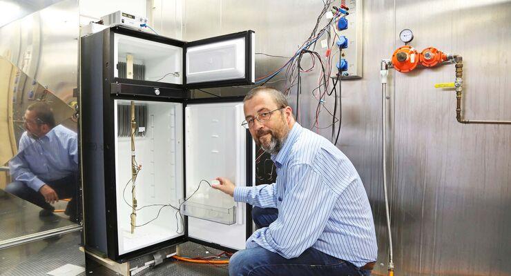 Aufbau Kühlschrank Qualität : Absorberkühlschrank test: dometic 10 in der klimakammer promobil