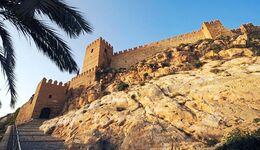 Almeria: Die maurische Festung Alcazaba überragt weithin sichtbar die Altstadt.