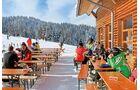 Alpe Hohenegg im Skigebiet von Steibis