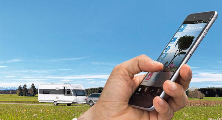 Iphone Entfernungsmesser Schweiz : 20 nützliche apps für ihre wohnmobil tour promobil