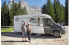Armin und Rosi Nerath am Nigerpass in Italien