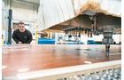 Ausfräsungen an Möbelplatten