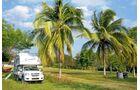 Belize: Heizen nicht nötig, in dem Karibik-Staat fällt die Temperatur nachts selten unter 16 Grad.