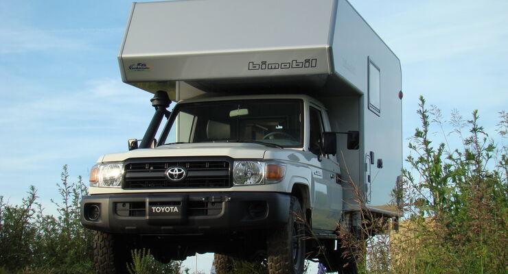 Bimobil Husky 208 Kabine Offroad Wohnmobil Reisemobil Camper