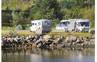 Brustranda Sjøcamping am Rolfsfjord