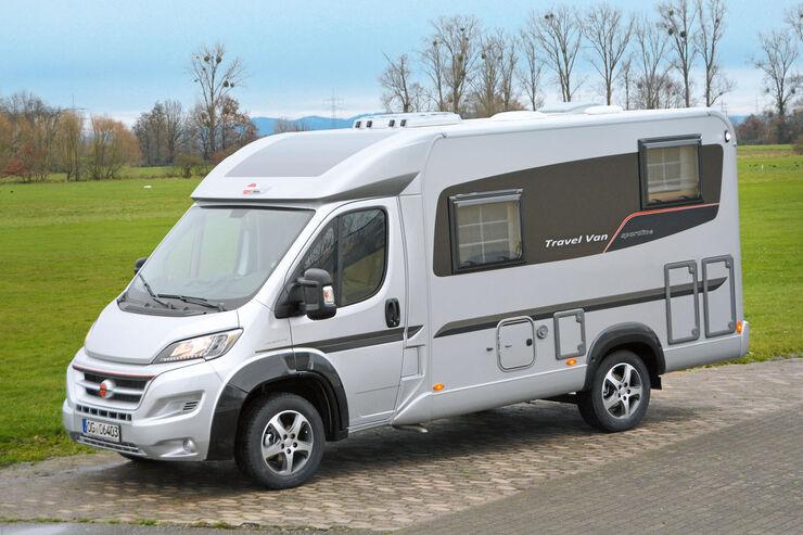 Bürstner Travel Van