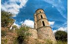 Burg von Grimaud aus dem 11. Jahrhundert