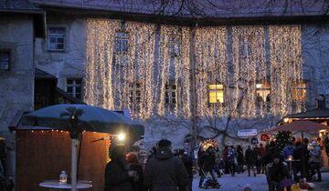 Burgadvent Burg Gruttenstein