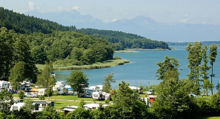 Camping Bayern Freistaat Wohnwagen Caravan Reisemobil Wohnmobil