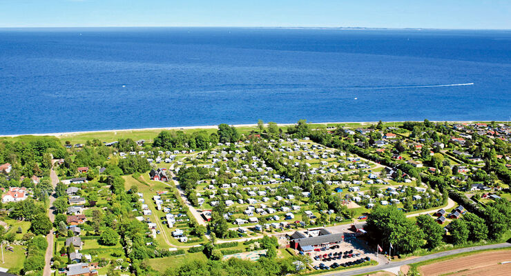 Camping Cheque: Ajstrup Strand Camping, Stellplatz