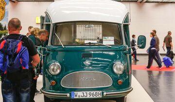Camping Oldie auf Caravan Salon 2014