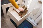 Das Bad gehoert zu den praktischen Seiten des Siesta V.