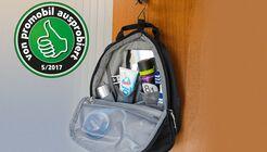 Das Bad in einem Wohnmobil bietet nur wenig Platz, deshalb ist es wichtig das alle Utensilien platzsparend aufgeräumt sind.