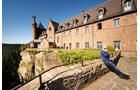 Das Kloster auf dem Odilienberg ist eines der Hochpunkte der Region.