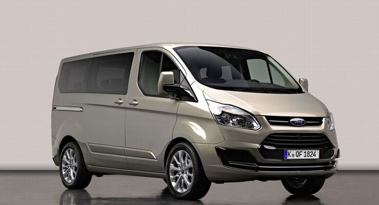 Das Konzeptfahrzeug Ford Transit Tourneo Custom feiert auf dem Genfer Automobilsalon 2012 Weltpremiere