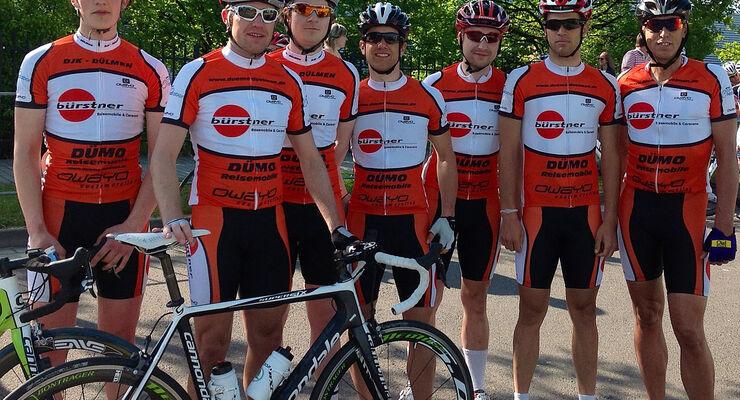 Das für das Bürstner-Dümo Team entscheidende Ergebnis des 3.Oktober 2012 war die Teamwertung über die 130 Km Distanz.