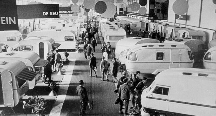Der Caravan Salon in Düsseldorf gilt längst als Leitmesse und feiert in diesem Jahr sein 50-jähriges Jubiläum