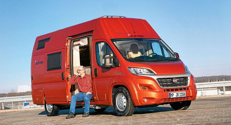 Der Clever Flex E ist ein günstiger Familien-Bus.