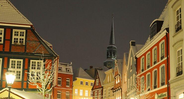 Der Weihnachtsmarkt vor historischer Kulisse nimmt in diesem Jahr vom 22. November bis zum 22. Dezember seinen Verlauf