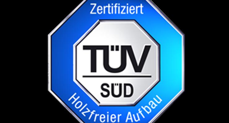 Die Reisemobilaufbauten von Carthago sind komplett holzfrei. Dies bestätigte jetzt der TÜV Süd mit einem Zertifikat.