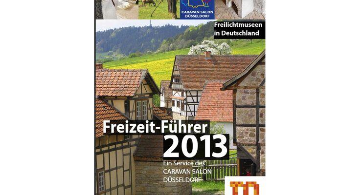 """Die diesjährige Ausgabe trägt den Titel """"Freilichtmuseen in Deutschland"""": über 200 Ziele für Reisemobil oder Caravan."""