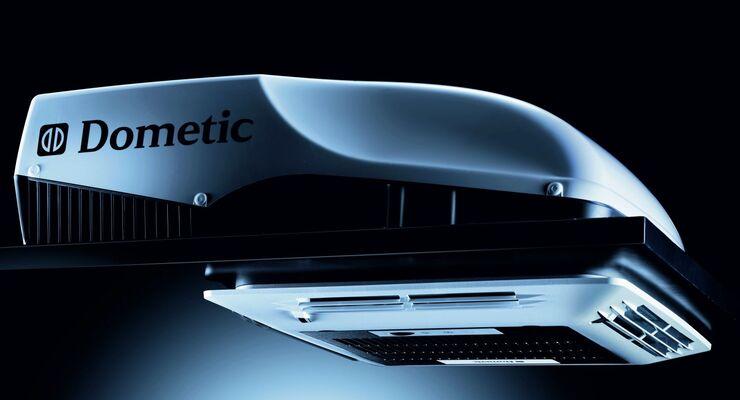 Dometic rundet mit der Dachklimaanlage Freshjet 2200 die Freshjet-Familie nach oben ab: für bis zu sieben Meter lange Reisemobile.