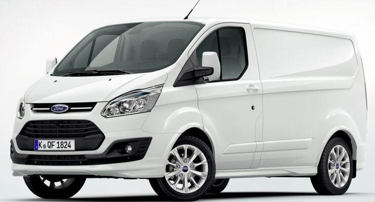 Ford stellte auf der Nutzfahrzeug-Ausstellung im britischen Birmingham als Weltpremiere den neuen Transit Custom vor