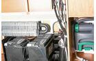 Für die Warmluft- und Warmwasserheizung gibt es eine Vorrüstung.