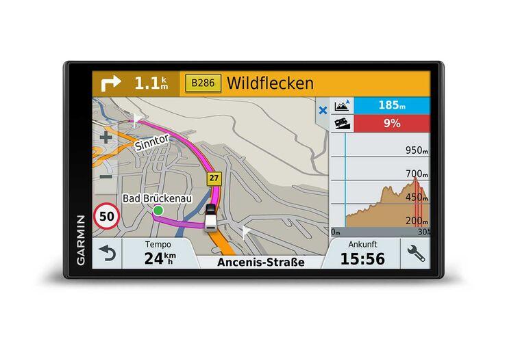Garmin Camper 770 LMT-D Karte