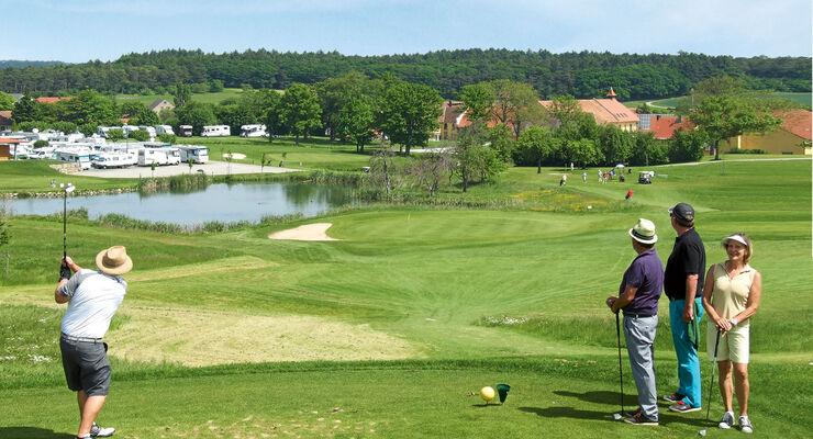 Golf Cup: Golfplatz