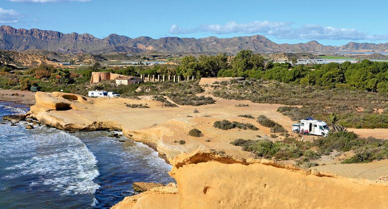 Herbschoene Costa Calida in Spaniens Suedosten.