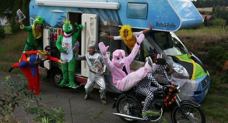 Hobby Barschmobil und seine glücklichen Gewinner