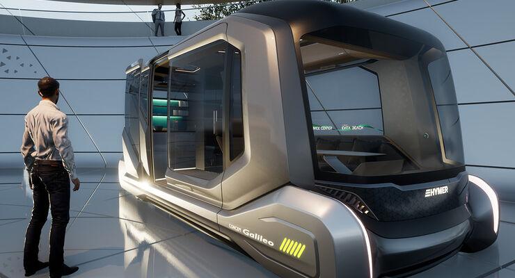 Hymer Concept Galileo - Zukunftsstudie 2019