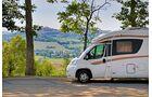 Im Wallfahrtsort Loreto gibt es ausgewiesene Plätze für Reisemobile in Altstadtnähe.