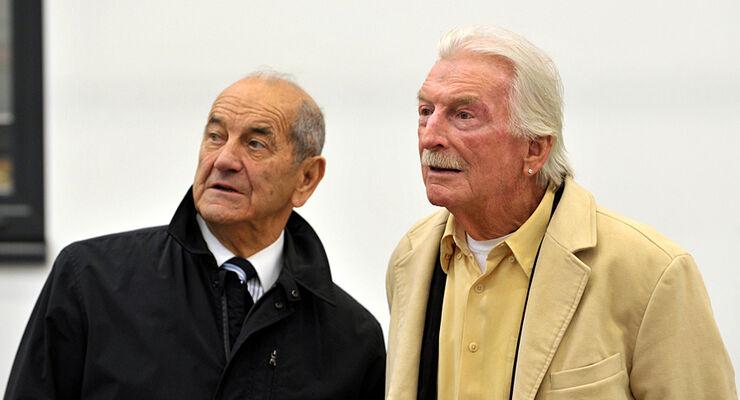 James Last und Erwin Hymer in Bad Waldsee