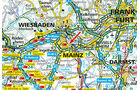 Karte, Mainz
