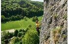 Klettern mit dem Bulli