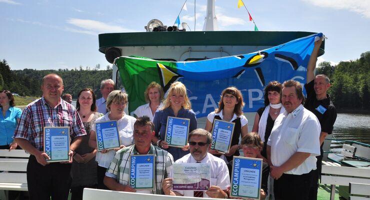 Kürzlich erhielten sechs Campingplätze in der Thüringer Stauseeregion Hohenwarte-Bleiloch die Ecocamping Auszeichnung.