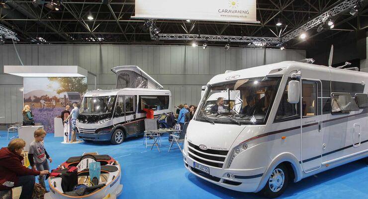 LMC Comfortline Messe boot Düsseldorf Caravaning Sondershow