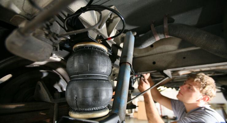 Luftfedern bei Wohnmobilen