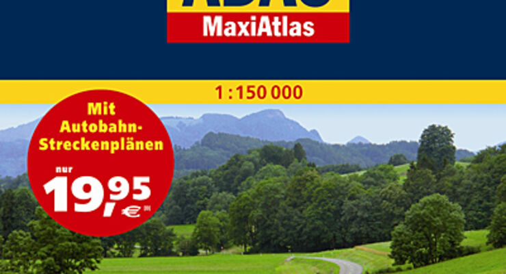 Maxi Atlas Deutschland 2010/2011 Adac wohnmobil reisemobil caravan wohnwagen