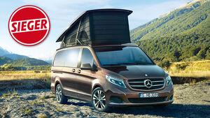 Mercedes Marco Polo gewinnt promobil-Leserwahl