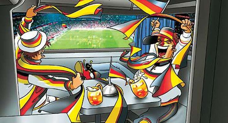 Mit dem Wohnmobil zur Fußball WM Polen 2012
