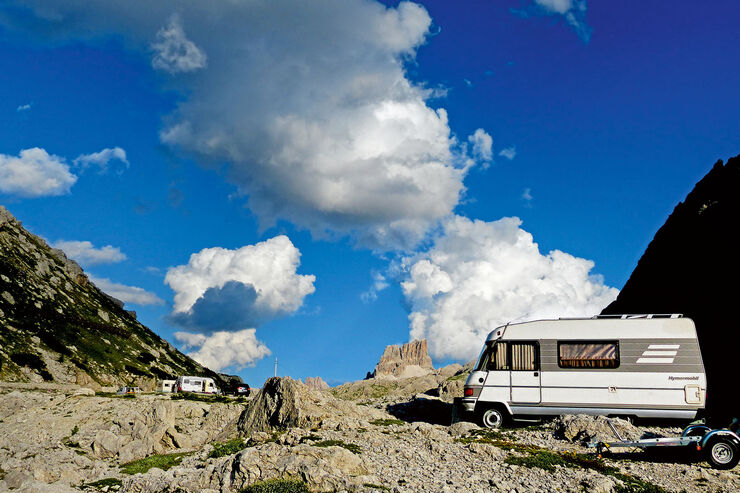 s dtirol mit dem wohnmobil in die dolomiten promobil. Black Bedroom Furniture Sets. Home Design Ideas