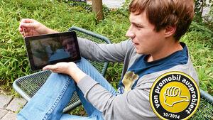 News: Zubehör, Ausprobiert, Mobiles TV-Gerät, Antenne