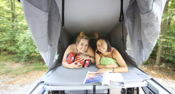 Outdoorküche Klappbar Forum : Pössl campster im praxistest: campen fahren alltag promobil