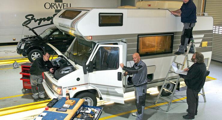Praxis: Reparieren und Ausbessern, Reisemobile, Wohnmobile