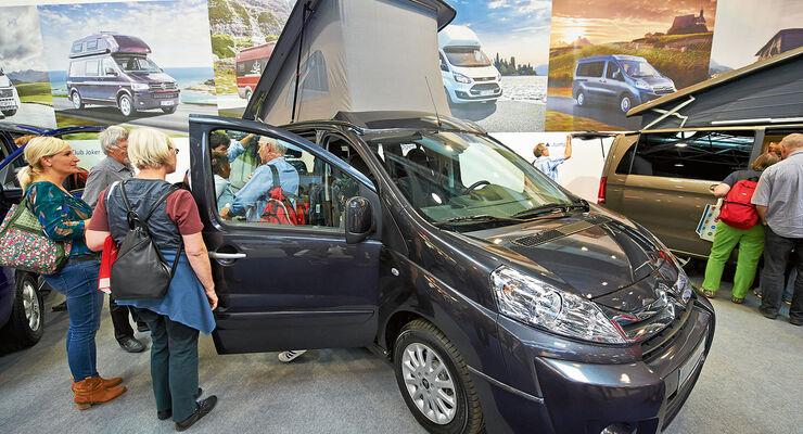 Premiere: Caravan-Salon, Reisemobile 2015, Westfalia