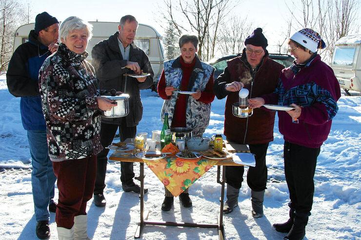Reise-Journal: Winterbiwak